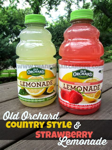 country style lemonade thanks mail carrier cool this summer with