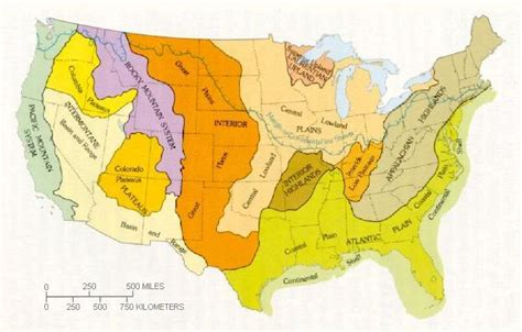 physical map of the united states great plains north america great plains weekly materials to print