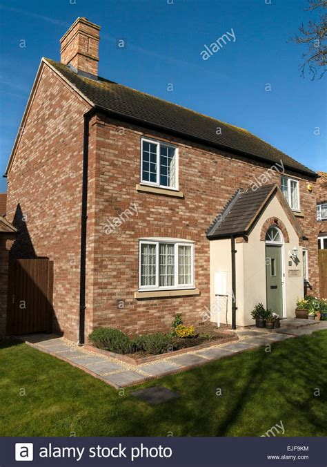 newbuild home in traditional cottage style built