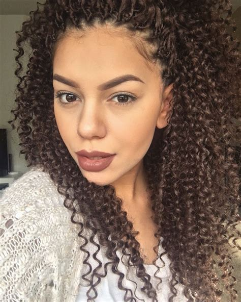 crochet braids hairstyle for dr hair syles pinterest crochet braids freetress water wave ig the millennial