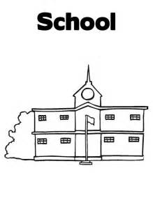 school coloring page school coloring child coloring