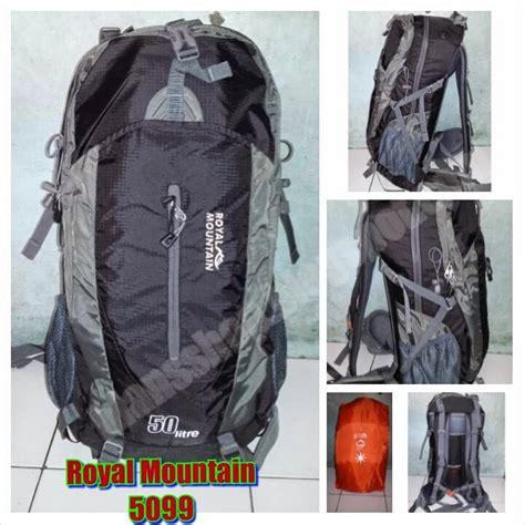 tas ransel mountaineering 50l tas gunung royal mountain 5099 50l jual tas ransel koper