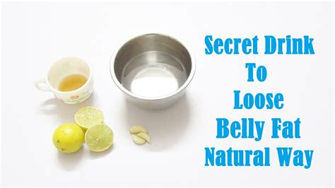 secret drink to lose belly way