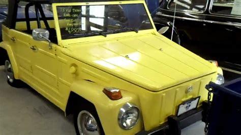 volkswagen thing yellow 1973 volkswagen thing yellow vw