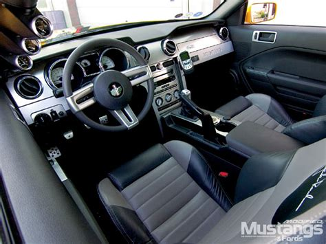 2005 Mustang Custom Interior by Mdmp 0704 05 Z 2005 Roush Ford Mustang Angle Photo