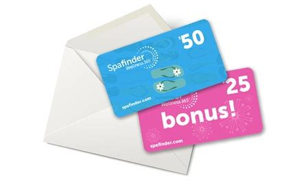 Where Can I Sell My Spafinder Gift Card - spafinder wellness egift cards spafinder wellness 365 groupon