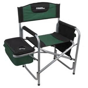 gander mountain steel directors chair with cooler