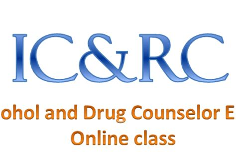 Icrc Detox by Study Guide For The Updated And Counselor