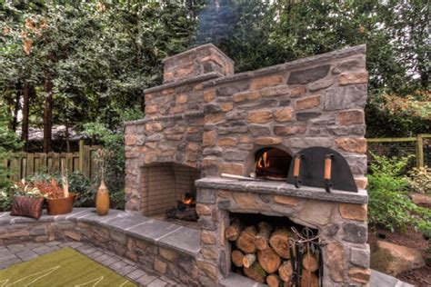 pizza oven outdoor fireplace outdoor fireplace and pizza oven garden dreams