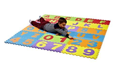 puzzle tappeto per bambini tappeto puzzle per bambini groupon goods