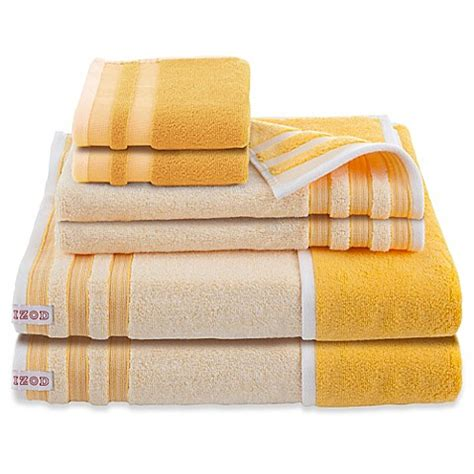 bed bath and beyond bath towels izod 174 oxford reversible bath towels set of 6 bed bath