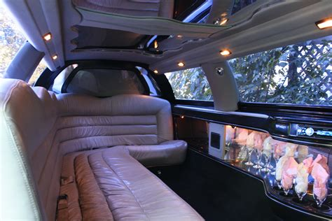 Inside A Limo by Stretched Limousine Luxury Limousine Services