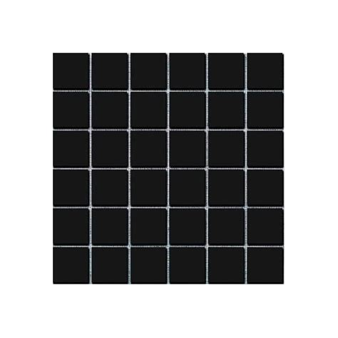 gloss black square large 30cm x 30cm wall floor tiles