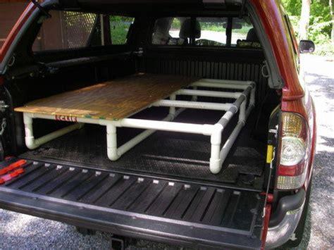 truck bed platform sleeping platform designs tacoma world