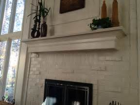 how to install a mantel on a brick fireplace mantel ideas for brick fireplace white painted brick and