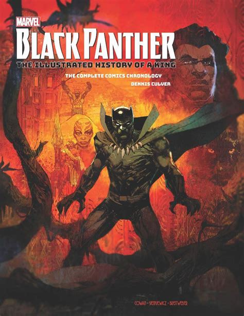 marvelâ s black panther the illustrated history of a king the complete comics chronology books look marvel s black panther the illustrated