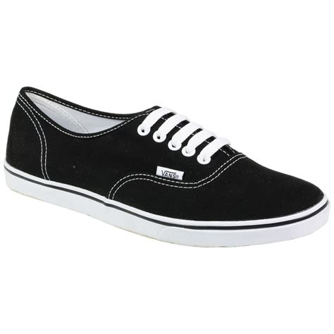 Sepatu Vans Authentic Black White Insole Black lo pro vans authentic canvas sket sneaker black white trainers shoes size uk 8 ebay