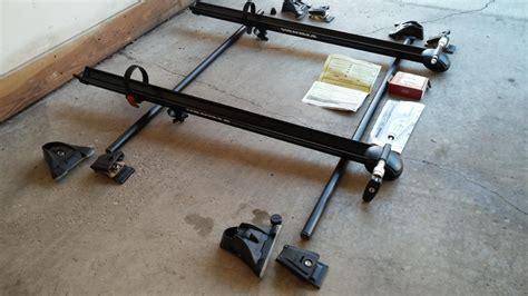fs yakima q towers rack system and copperhead bike