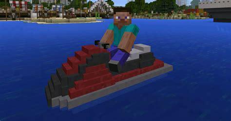 minecraft working boat mod mech mod minecraft pe mods addons