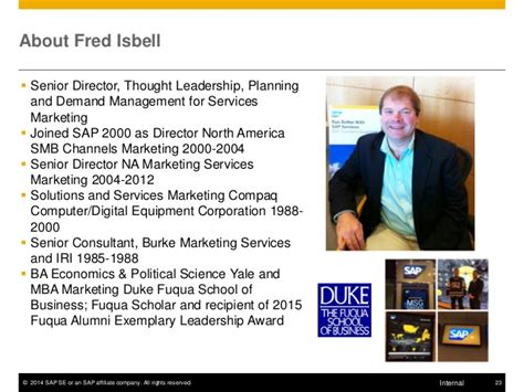 Sap Course For Mba Marketing by Sap Corporate Education Session Fuqua Marketing Club