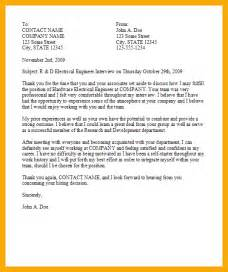 12 exle thank you letter after resume sle