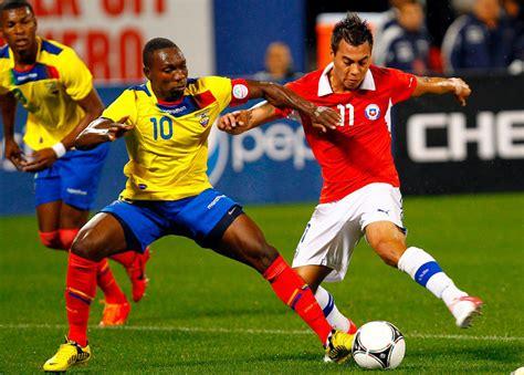 Calendario Clasificatoria Rusia 2018 Chile Ecuador Destroz 243 Por 3 0 A Chile Por Las Clasificatorias