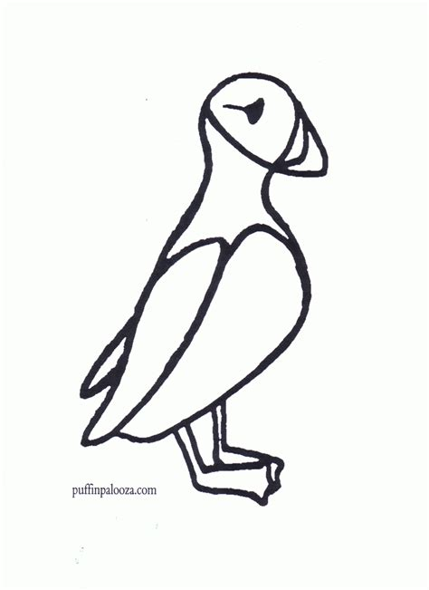 puffins coloring pages az coloring pages