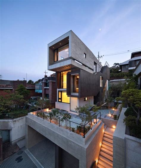 home design group modern architecture in korea by design group bang by min