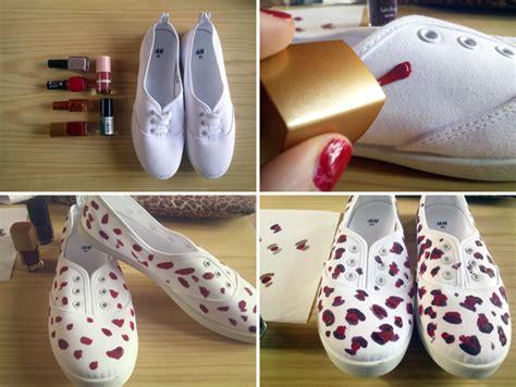imagenes de unas zapatillas milowcostblog diy zapatillas con esmalte de u 241 as
