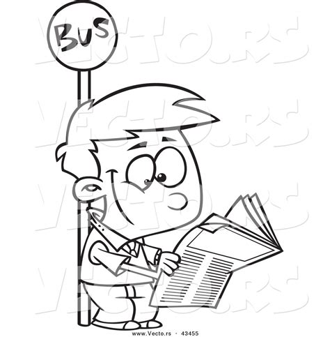 coloring book news royalty free lineart stock designs