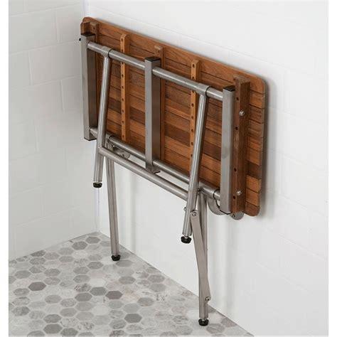 ada wall mount teakworks4u ada compliant wall mount burmese teak shower