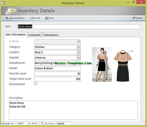 ms access warehouse management template 541 best business images on business ideas