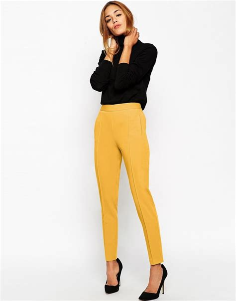 Whats Haute In The Uk by Asos Pantalon Taille Haute Asos Pickture
