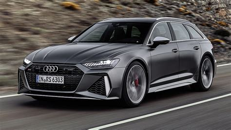 audi rs avant  revealed super wagon  mild hybrid