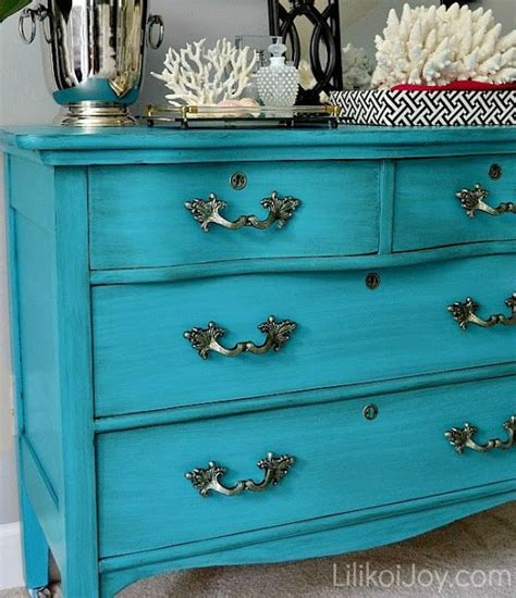 craigslist dresser gets a colorful makeover how to paint furniture do it yourself