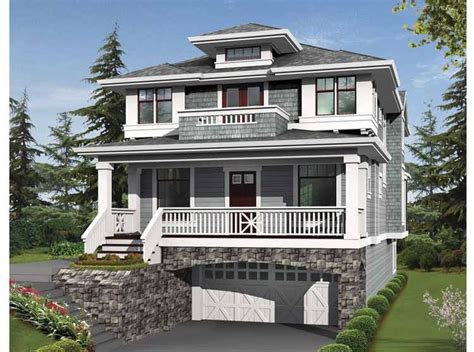 garage under house plans 32 best images about tuck under garage houses on pinterest
