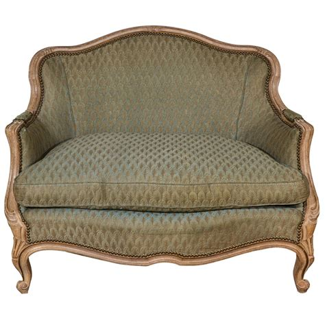 louis settee louis xv style small settee for sale at 1stdibs