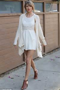 taylor swift dresses like it s 1969 while out in west