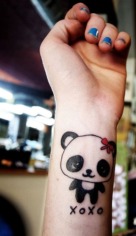tattoo of panda bear simple panda bear tattoo design design of tattoosdesign