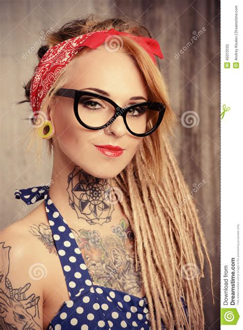 imagenes pin up tatuadas play style stock photo image 45013105