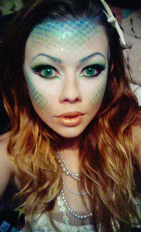 halloween mermaid makeup shawn ps photo beautylish