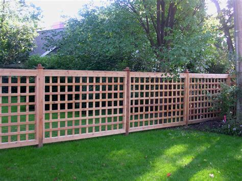 fencing ideas for backyards backyard fencing ideas homesfeed