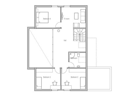 detailed house plans contemporary home ch136 detailed house plan model house plan