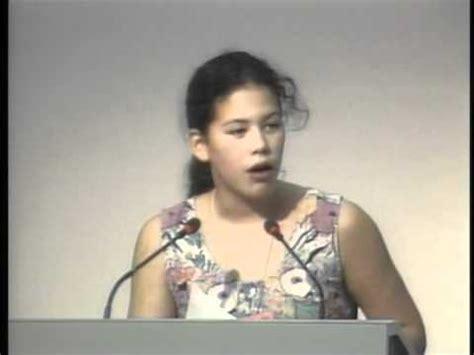 Sarika Cullis Suzuki Severn Cullis Suzuki Speaking At In 1992