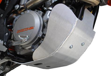 Ktm Skid Plate Ktm 350 Xcf W Aluminum Skid Plate Ricochet Road