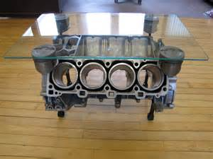 Engine Glass Coffee Table 928 Motorsports 928 Furniture 928 Engine Coffee Table