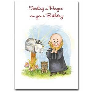Sending a prayer greeting card