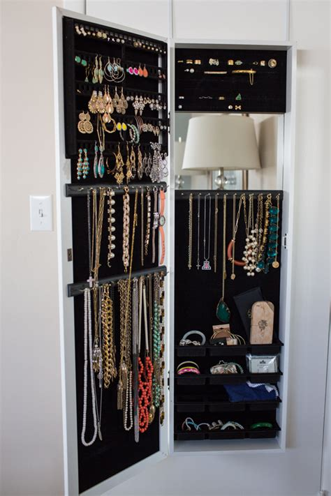 closet door jewelry organizer hostyhi