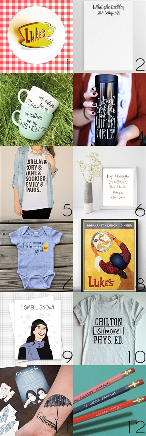 gifts for gilmore fans 12 etsy finds for gilmore girls fans solo lisa