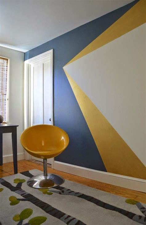 paint patterns for bedroom walls 25 best ideas about yellow accent walls on pinterest